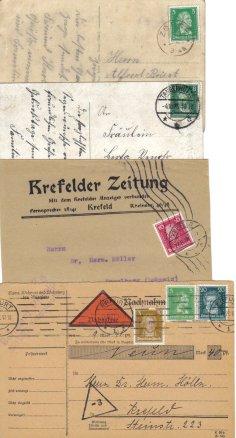 packet gebühren post
